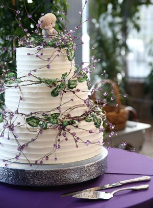 3 layer utah wedding cake